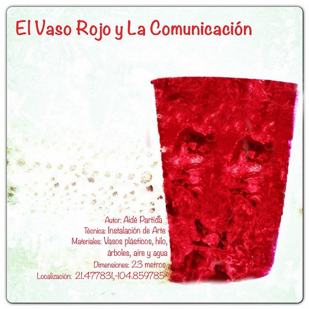 El Vaso Rojo de la Comunicación